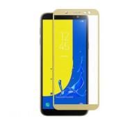 Защитное стекло для Samsung Galaxy J6 2018 3D золотое