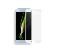 Защитное стекло для Samsung Galaxy A3 2017 3D белое