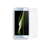 Защитное стекло для Samsung Galaxy A3 2017 5D белое