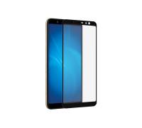 Защитное стекло для Samsung Galaxy A6 Plus 2018 3D черное
