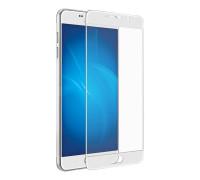 Защитное стекло для Samsung Galaxy A7 2017 5D белое
