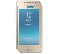 Защитное стекло для Samsung Galaxy J2 2018 3D золотое