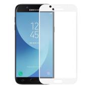Защитное стекло для Samsung Galaxy J3 2017 3D белый