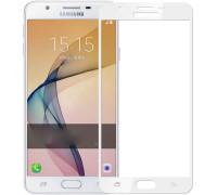 Защитное стекло для Samsung Galaxy J5 Prime 2017 5D белое