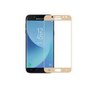 Защитное стекло для Samsung galaxy J5 2017 3D золотое