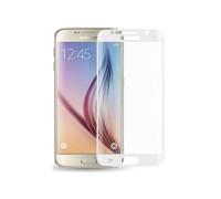 Защитное стекло для Samsung Galaxy S6 3D белое