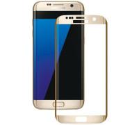 Защитное стекло для Samsung Galaxy S7 Edge 3D Золотое