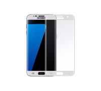 Защитное стекло для Samsung Galaxy S7 Edge 3D белое