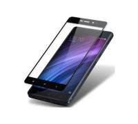 Защитное стекло для Xiaomi Redmi 4 3D черное