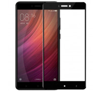 Защитное стекло для Xiaomi Redmi 4X 5D полная проклейка черное