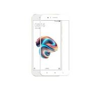 Защитное стекло для Xiaomi Mi5X 3D белое