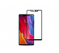 Защитное стекло для Xiaomi Mi8 SE 3D синее