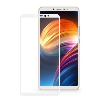 Защитное стекло для Xiaomi Mi Max 3 3D белое