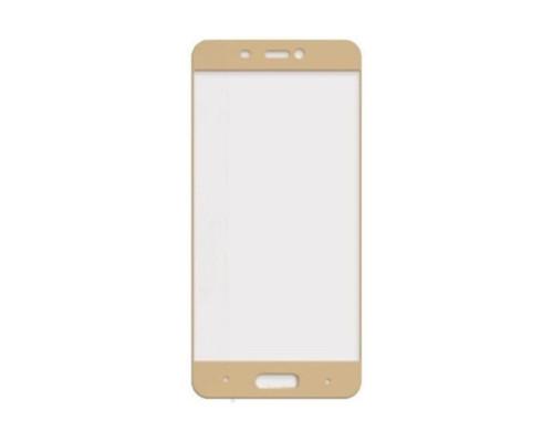 Защитное стекло для Xiaomi Mi5C 3D золотое