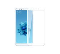 Защитное стекло для Xiaomi Mi A2 3D белый