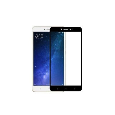 Защитное стекло для Xiaomi Mi Max 2 5D черное