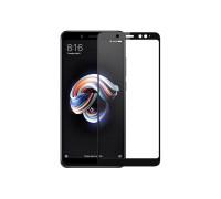 Защитное стекло для Xiaomi Redmi 5 5D полная проклейка черное