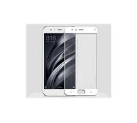 Защитное стекло для Xiaomi Mi6 3D белое