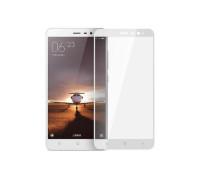 Защитное стекло для Xiaomi Redmi Note 3 3D белое