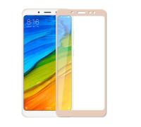 Защитное стекло для Xiaomi Redmi Note 5 Pro 3D золотое