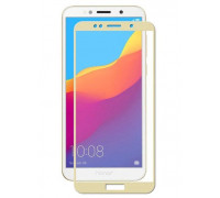 Защитное стекло для Huawei Y6 Prime 2018 3D золотое