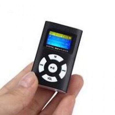 MP3 плеер Mini с разъемом под карту памяти и экраном