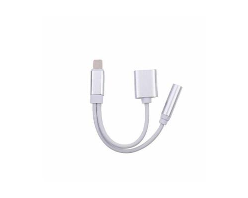 Переходник iPhone Lightning на Jack 3.5 мм