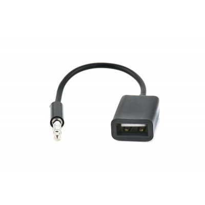Кабель AUX mini Jack 3.5— USB мама