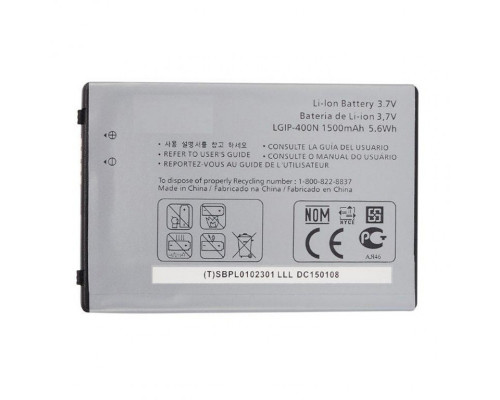 Аккумулятор для LG LGIP-400N