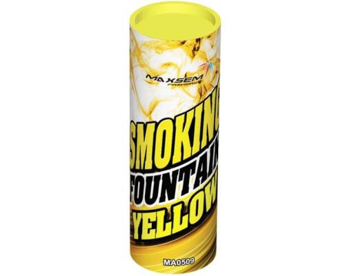 Цветной дым Maxsem MA0509 желтый, 30 сек