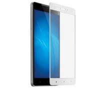 Защитное стекло для Xiaomi Redmi Note 4 5D полная проклейка белое