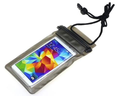"""Водонепроницаемый чехол для телефона до 6.5"""" на шею, универсальный, черный"""