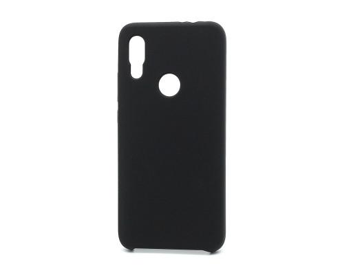 Чехол Silicone cover для Xiaomi Redmi 7, черный