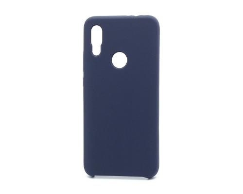 Чехол Silicone cover для Xiaomi Redmi 7, синий