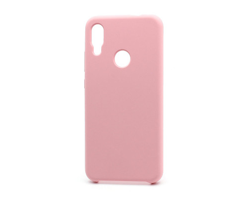 Чехол Silicone cover для Xiaomi Redmi 7, розовый