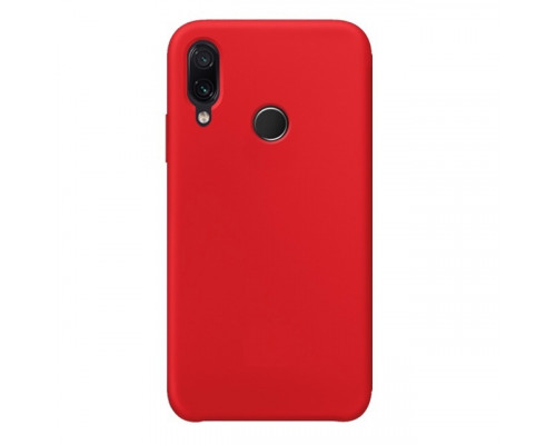 Чехол Silicone cover для Xiaomi Redmi 7, красный