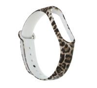 Ремешок для Xiaomi Mi Band 4 (коричневый леопард)