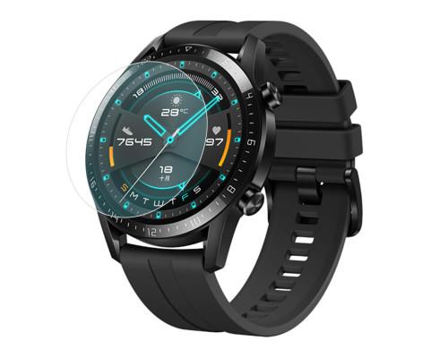 Защитная плёнка TPU для Huawei Watch GT2 42mm, с полной проклейкой, прозрачная