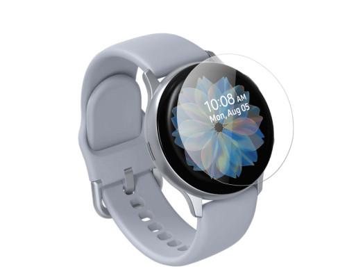 Защитная плёнка TPU для Samsung Watch Active 2 44mm, с полной проклейкой, прозрачная
