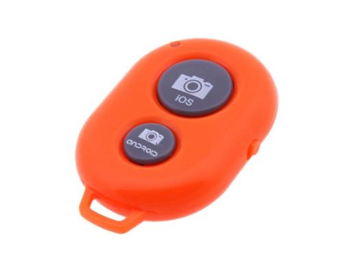 Кнопка для селфи Bluetooth Remote Shutter, цвет оранжевый
