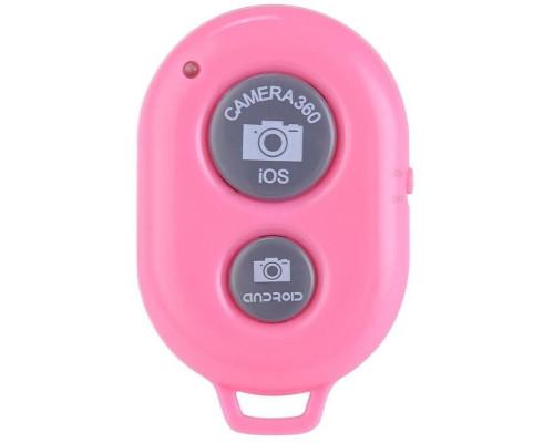 Кнопка для селфи Bluetooth Remote Shutter, цвет розовый