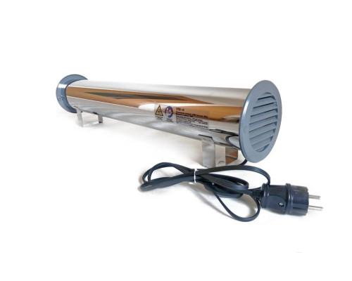 Рециркулятор воздуха бактерицидный металлический РЛБ-15, 15 Вт до 30 м2
