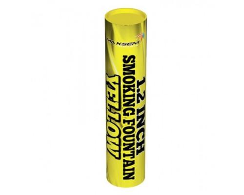 Цветной дым Maxsem MA0513 желтый , 60сек