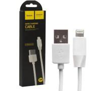 Кабель USB Lightning X1 3M HOCO белый