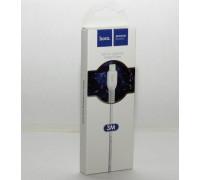 Кабель USB Lightning X20 3M HOCO белый