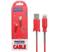 Кабель USB Lightning X24 1M HOCO красный