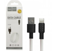 Кабель USB Lightning X29 1M HOCO белый