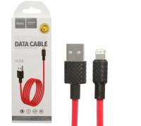 Кабель USB Lightning X29 1M HOCO красный