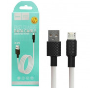 Кабель USB Micro USB X29 1M HOCO белый