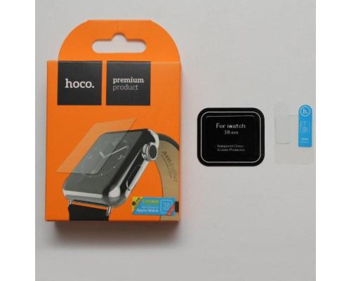 Защитное стекло Apple Watch 38 мм HOCO толщиной 0.1 мм